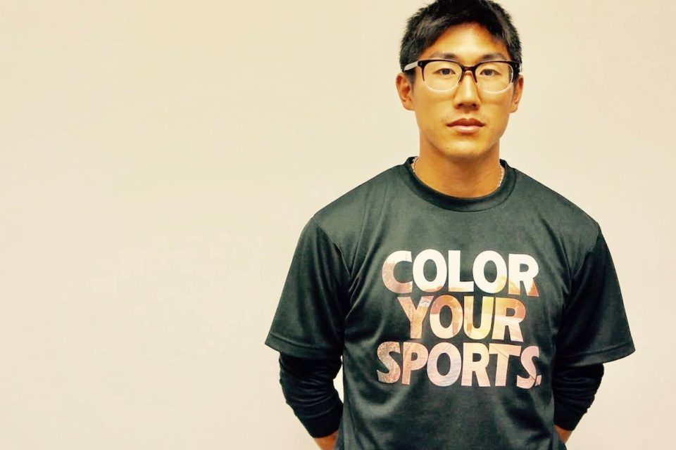 「COLOR YOUR SPORTS」Tシャツ アスリートNO.001