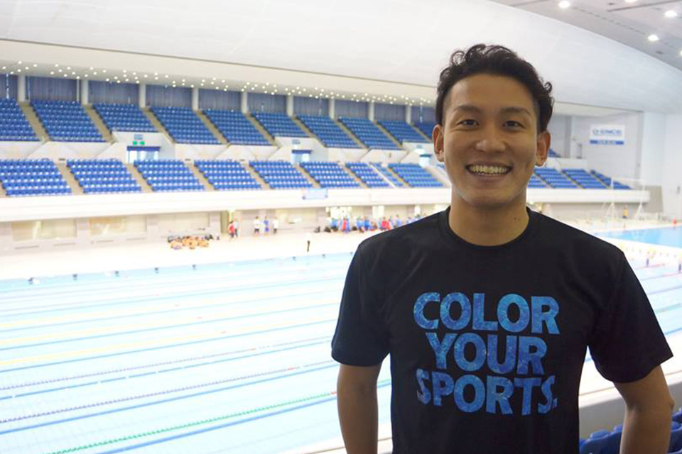 「COLOR YOUR SPORTS」Tシャツ アスリートNO.002